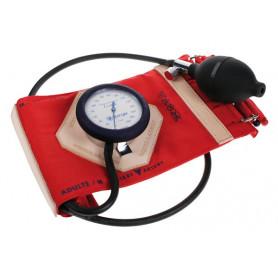 Tensiomètre V.L. Classic Spengler brassard à sangles rouge adulte