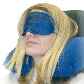 Set de confort : coussin, masque et bouchons d'oreilles