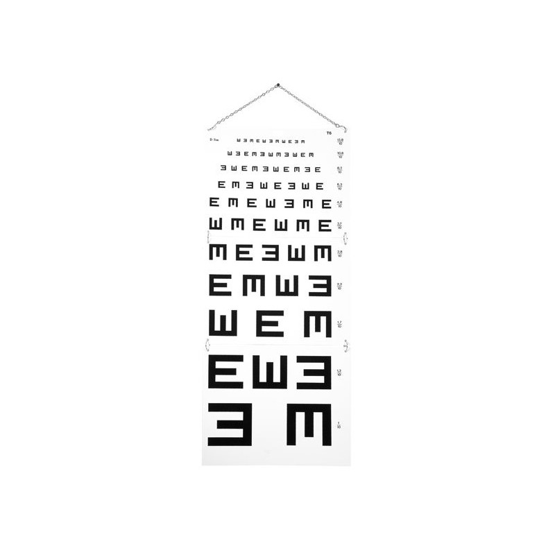 Test d'acuité visuelle d'Armaignac à 5 mètres