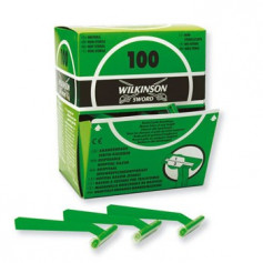 Rasoirs jetables Wilkinson 1 lame non stériles boîte de 100