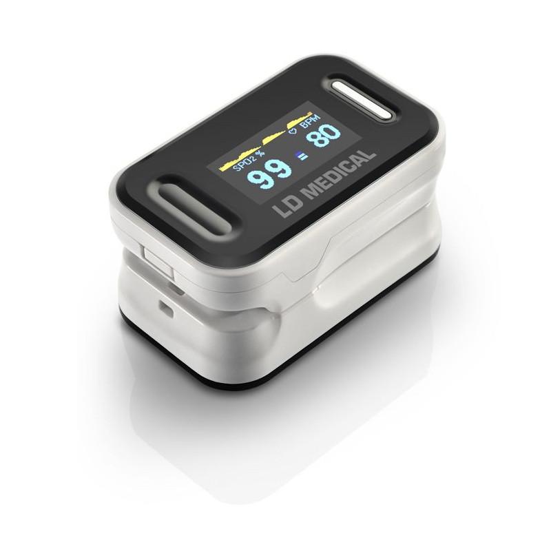 Oxymètre de pouls professionnel à écran OLED compact et léger
