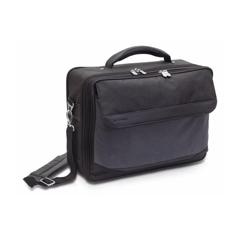 Mallette médecin en tissu Elite Bag Doctor noir Holtex