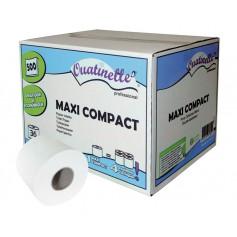 Papier toilette Maxi Compact Ouatinelle carton de 36 rouleaux