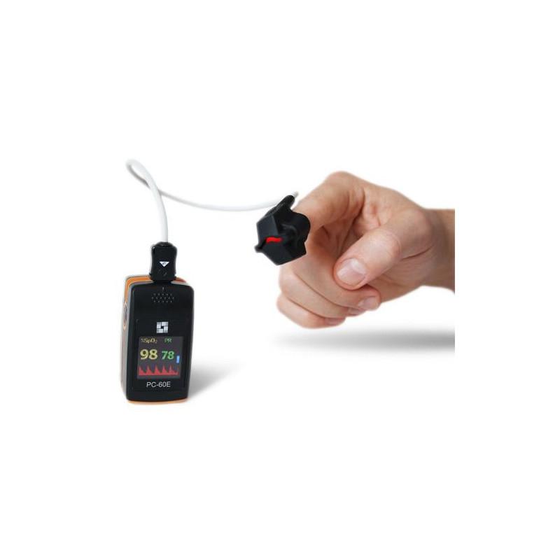 Oxymètre de pouls PC-60E avec capteur pédiatrique