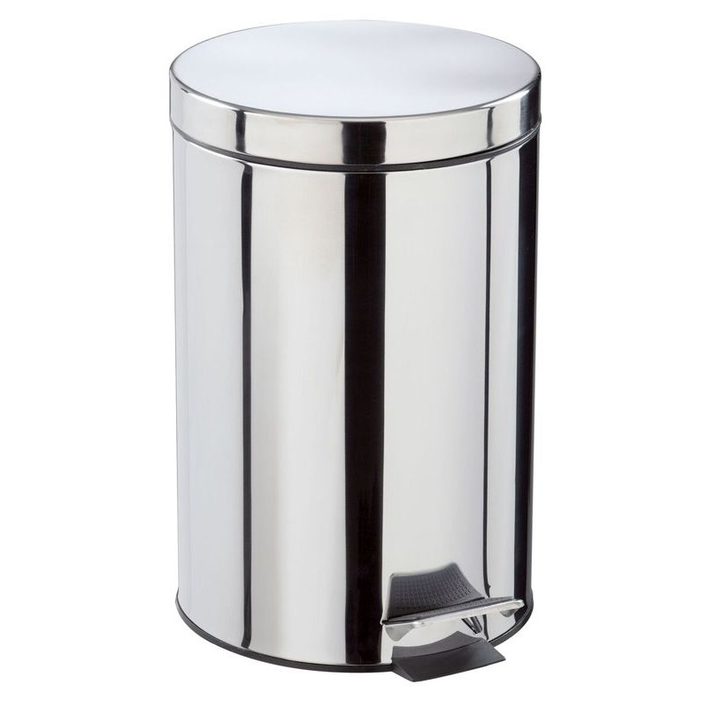poubelle en inox 20 l. Black Bedroom Furniture Sets. Home Design Ideas