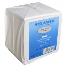 Compresses non tissées non stériles Sylamed 10 x 10 cm