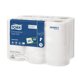 Papier toilette Tork traditionnel blanc - 12 rouleaux