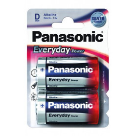 Piles LR20 Panasonic Everyday Power - paquet de 4