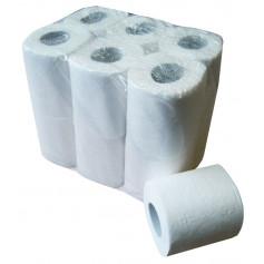 Papier toilette extra blanc paquet de 12 rouleaux