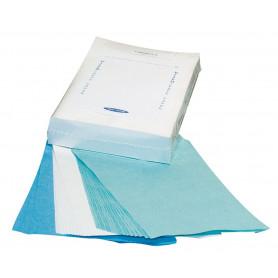 Papier absorbant blanc pour plateau de stérilisation - 250 feuilles