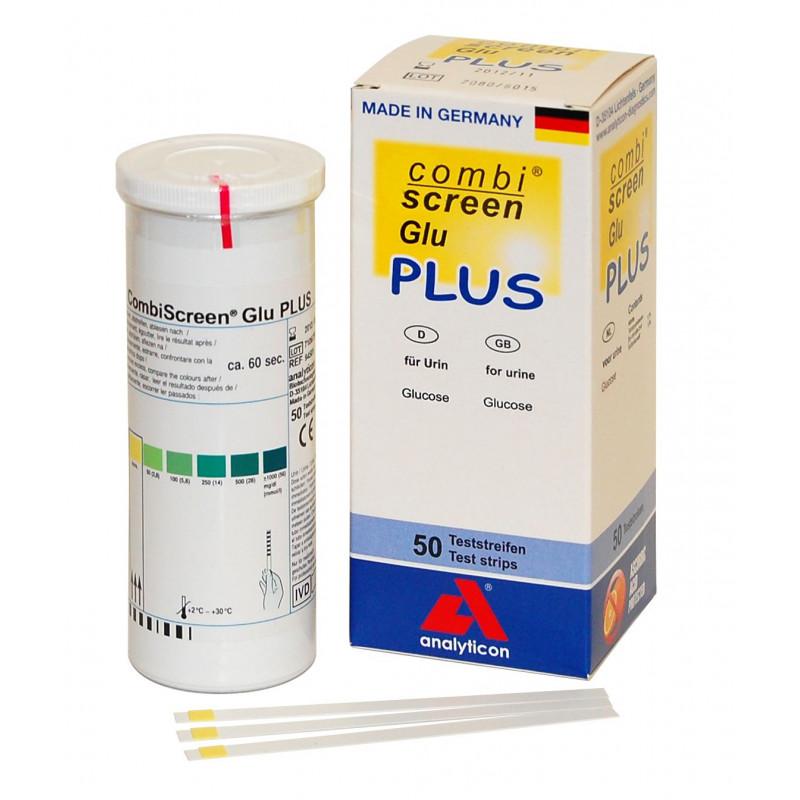Bandelettes urinaires CombiScreen® Plus Glucose