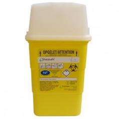 Sharpsafe 1 L - Collecteur de déchets médicaux