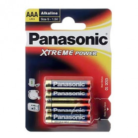 Piles LR03 Panasonic - paquet de 4