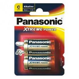 Piles LR14 Panasonic - paquet de 2