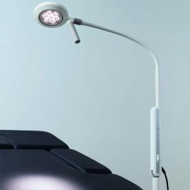 Lampe d'examen à LED VISIANO 10-1 P S10avec pied à roulettes