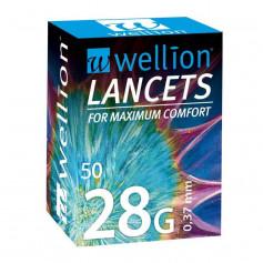 Lancettes 28g pour glucomètre Calla - La boite