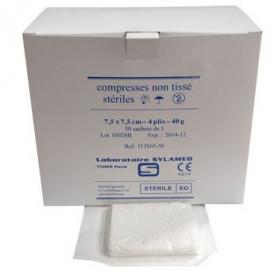 Compresses stériles non tissées 40 g/m² Sylamed