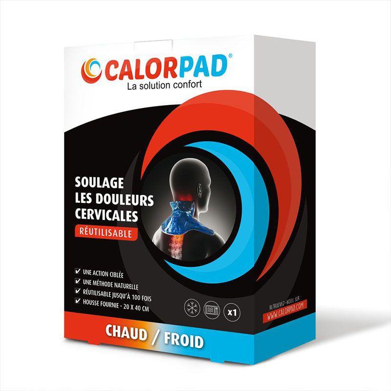 Coussin chaud/froid pour cervicales CALORPAD réutlisable