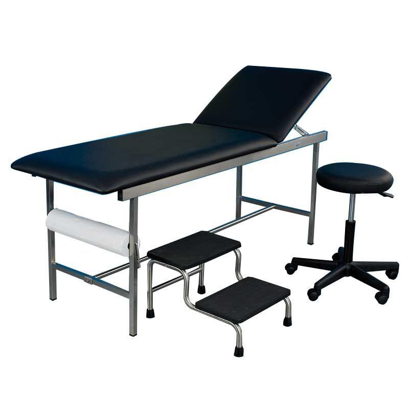 Cabinet médical complet en inox HOLTEX