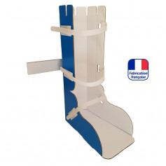 Attelle carton pour pied et cheville à usage unique pour adultes HEXOR