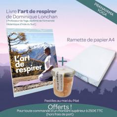 Kdo13 - Livre l'art de respirer + ramette A4 + pastilles au miel