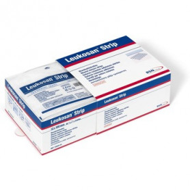 SUTURES ADHESIVES LEUKOSAN STRIP