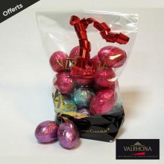 Ballotin de chocolats de pâques Valrhona