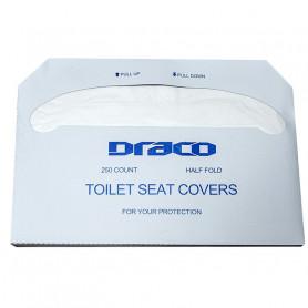 Couvre siège en papier blanc pour WC