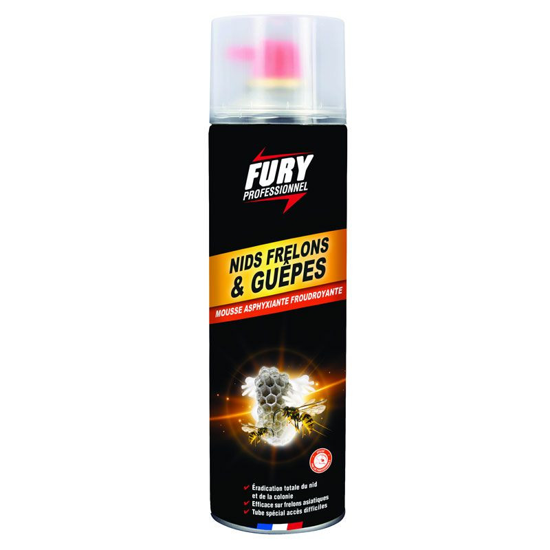 Fury mousse nids guêpes et frelons