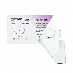 Fil de suture résorbable Optime (boîte de 36)