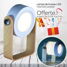 Lampe LED de bureau 2 en 1