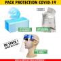 Pack équipements de protection Covid-19