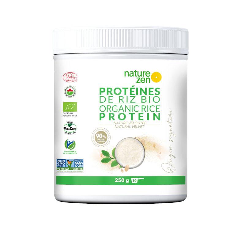 Origin - Protéine végétale biologique de riz - 250g - NATURE ZEN