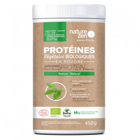 Essentials - Protéines végétales biologiques - 450g - NATURE ZEN