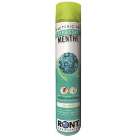 Bactéricide d'atmosphère à la menthe Ront