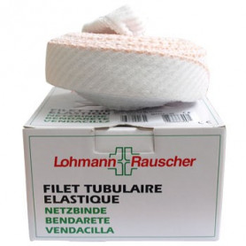 FILET TUBULAIRE ELASTIQUE 25m