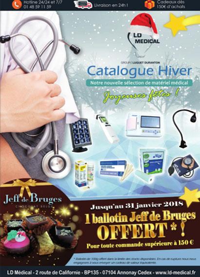 Catalogues matériel médical Hiver
