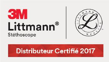 Littmann 3M Logo distributeur certifié 2017