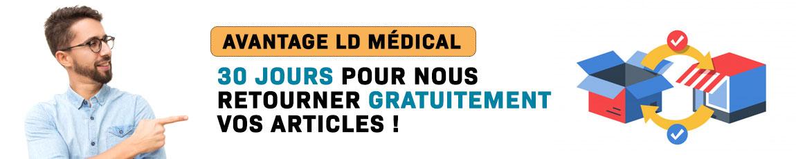 Retour des produits chez LD Médical