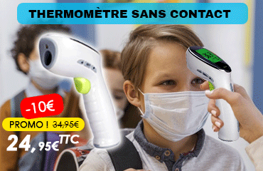 Achat thermomètre frontal