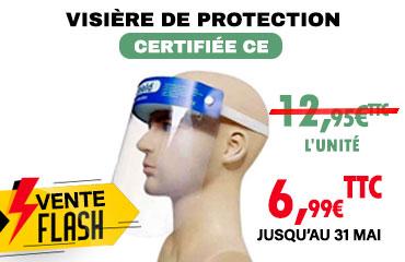 Visière de protection Coronavirus