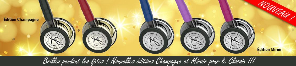 Littmann-Classic-3-Miroir-Champagne