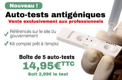 Achat autotest covid pass sanitaire