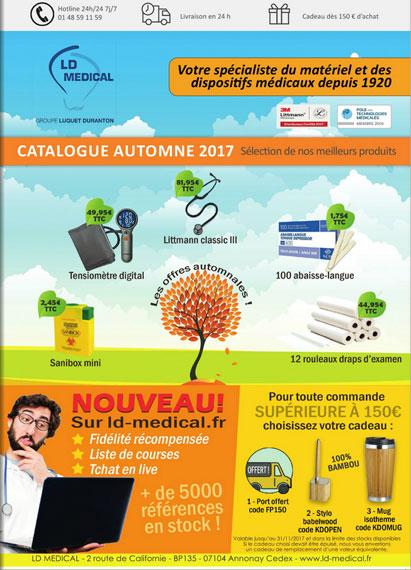 Catalogue automne 2017