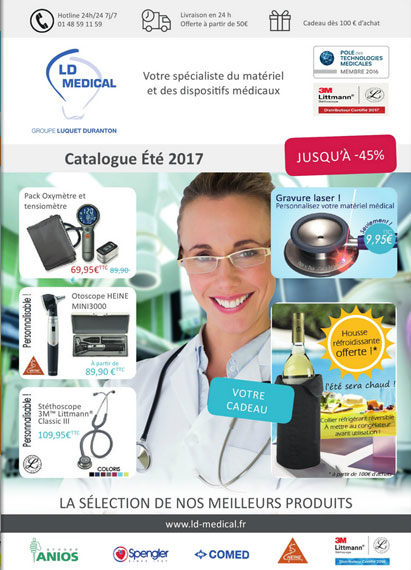 Catalogue LD Medical - été 2017