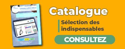 Couvertur catalogue matériel médical pour professionnel