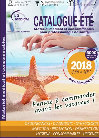 Catalogue matériel médical LD Médical - été 2018
