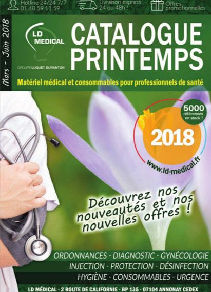 Catlaogue Printemps 2018 Matériel médical