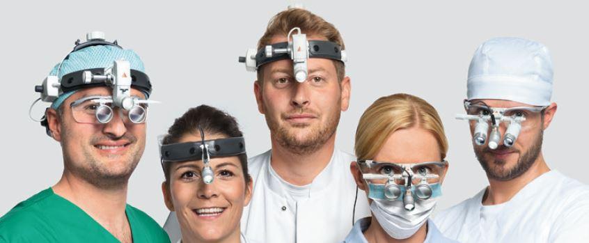 Lunettes binoculaires pour médecine