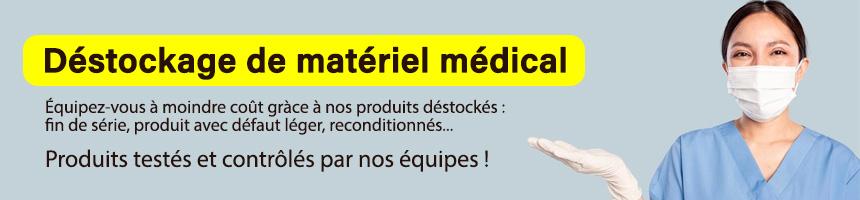 Déstockage de matériel médical professionnel